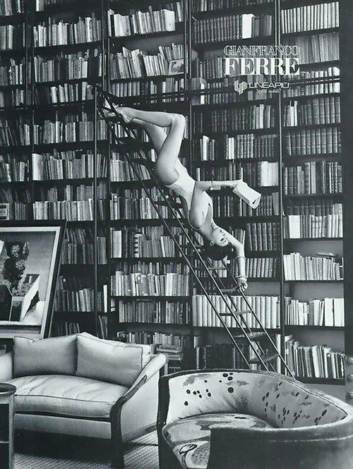every mans library is a sort of harem ralph waldo emerson